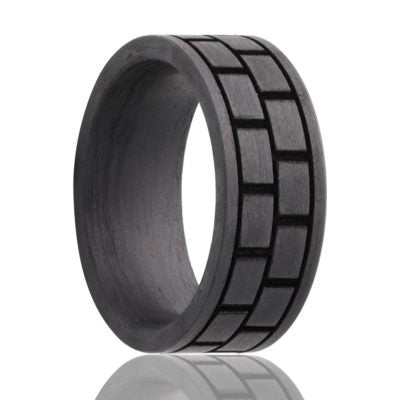 Carbon Fiber Wedding Band CF901-L3