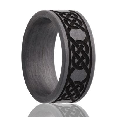 Carbon Fiber Wedding Band  CF901-L5