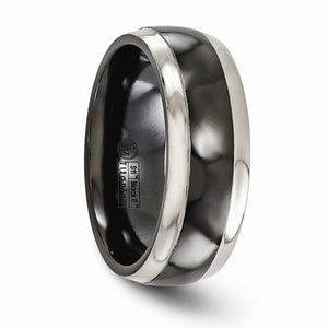 Titanium Black Ti 8mm Band