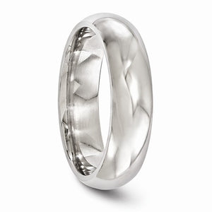 Edward Mirell Rounded Titanium Wedding Band