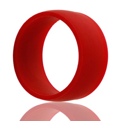 Red Silicone Wedding Band