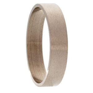 Titanium Inlay Twist Ring