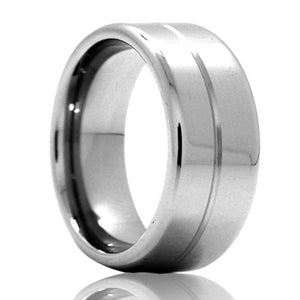 Tungsten Carbide Wedding Band TU103