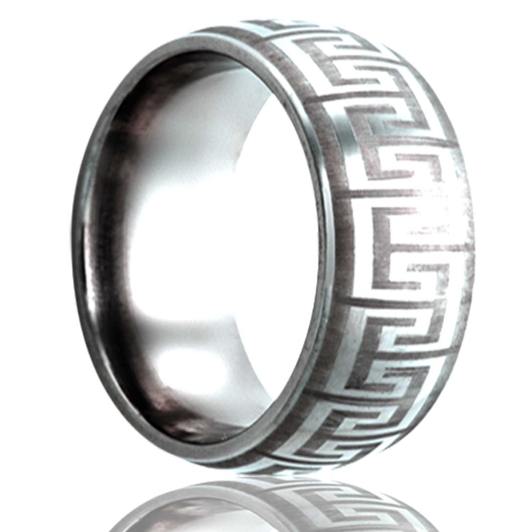 Tungsten Carbide Wedding Band TU111-L