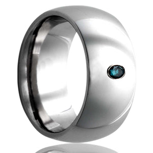 Dome Tungsten Wedding Band-TU111DBL1