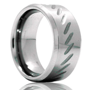 Tungsten Carbide Wedding Band TU134