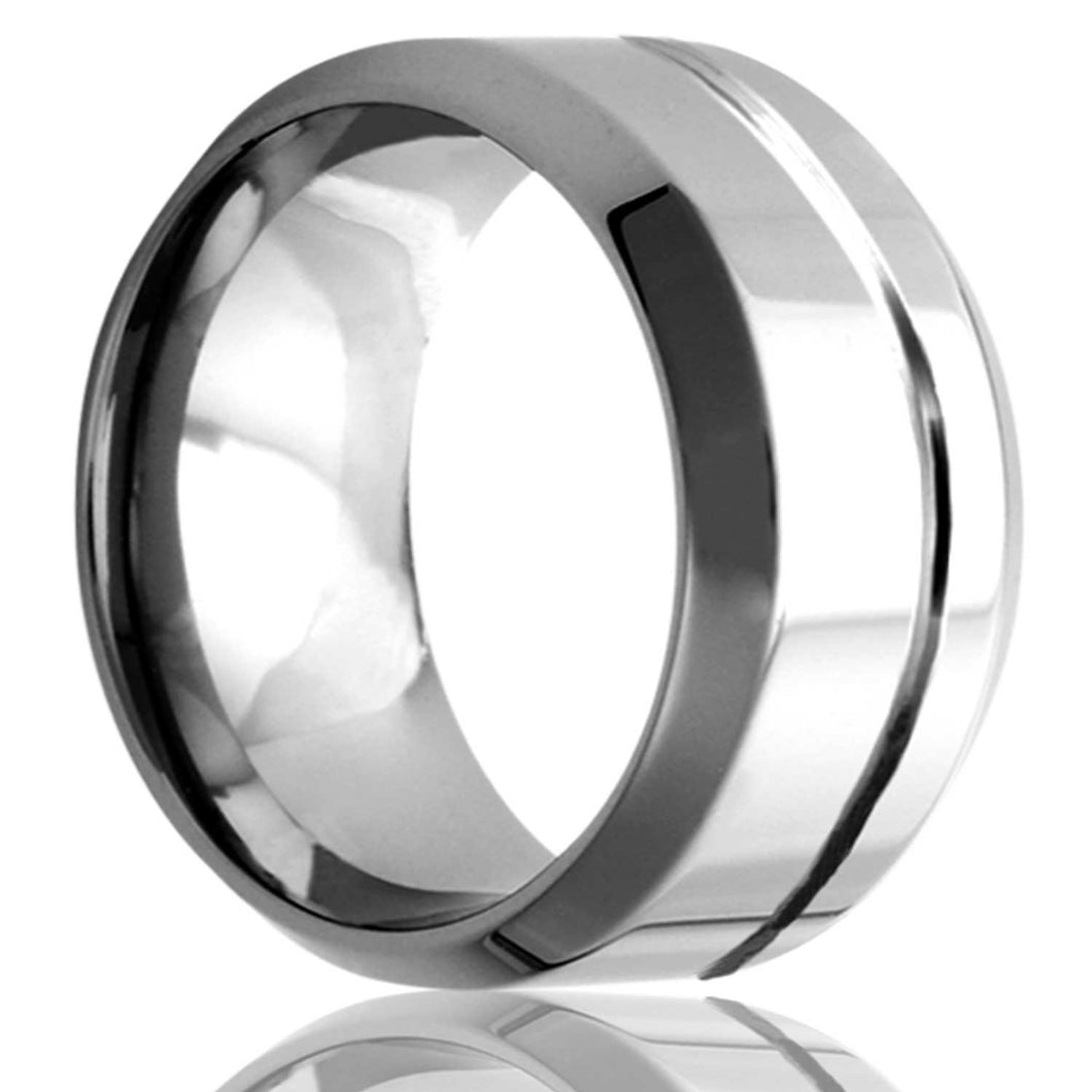 Tungsten Carbide Wedding Band TU177