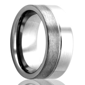 Tungsten Carbide Wedding Band TU183
