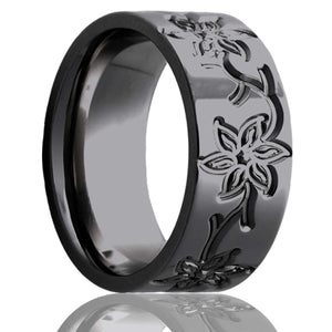 Zirconium Wedding Band Z101M22