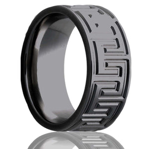 Zirconium Wedding Band Z101M2