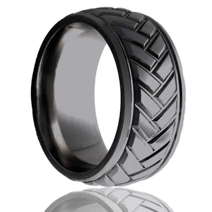 Zirconium Wedding Band Z111M16