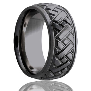 Zirconium Wedding Band Z111M17