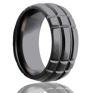 Zirconium Wedding Band Z111M3