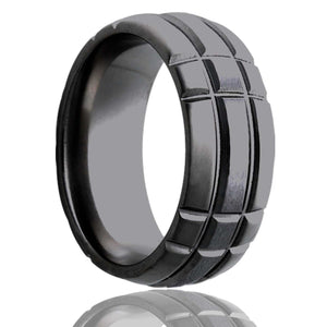 Zirconium Wedding Band Z111M3S
