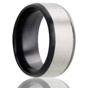 Zirconium Wedding Band Z207