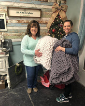 12/06/19 6-8:30 pm: 12/16 or 12/22 Cozy Hand Knit Blanket Workshop