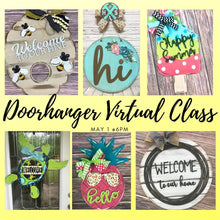 05/01/2020 Virtual Paint Party Doorhanger *Date Change*
