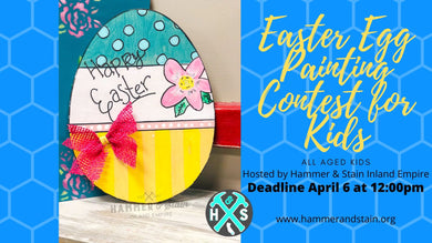 Virtual Easter Egg Kids Painting Contest