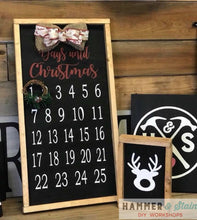 11/27/2019 (6-8pm) Christmas Countdown Workshop & More!