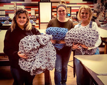 10/27/19 2-4:30 pm Cozy Hand Knit Blanket Workshop