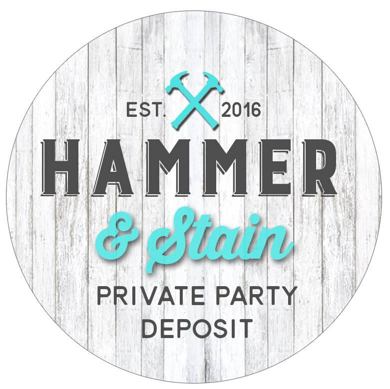 10/27/18 4-6pm  Private Party Deposit