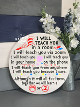 I will teach you Sign