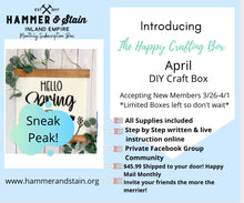 Happy Crafting Box (Adult subscription box)