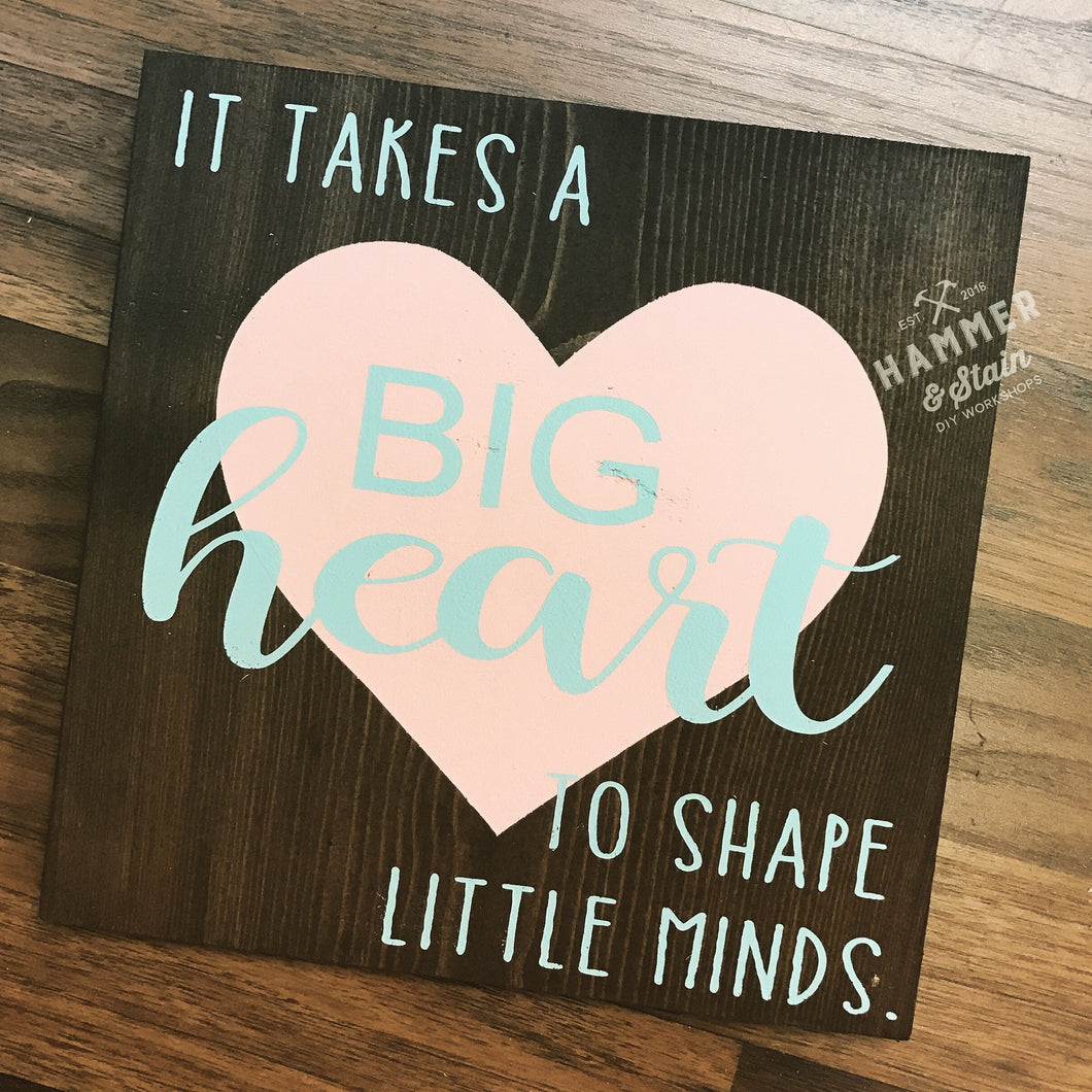 DIY Take Home Kit (Big Heart)