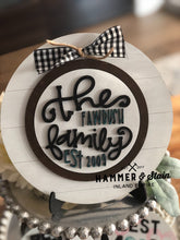 Interchangeable Shiplap Sign