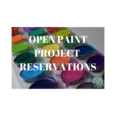 Open Paint Seat & Project Reservations