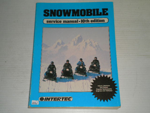 1964-1986 Intertec 10th Edition Snowmobile Service Manual  SMS-10  #S76