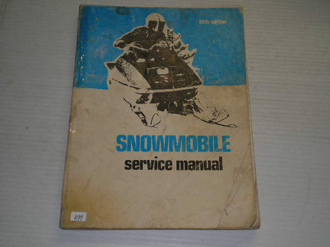 1964-1972  Intertec  5th Edition Snowmobile Service Manual  SMS-5  #S101