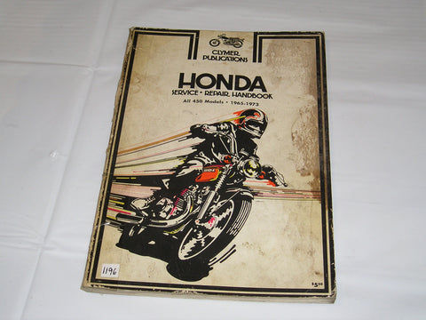 HONDA 450 Models  1965-1973  Clymer Service Manual M333   #1196