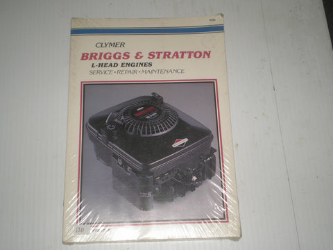BRIGGS & STRATTON  L- Head Engines  Clymer Service Manual H100   #1311