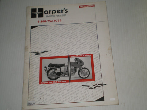 MOTO GUZZI 1995 Harper's Catalogue of Parts and Accessories  #E131