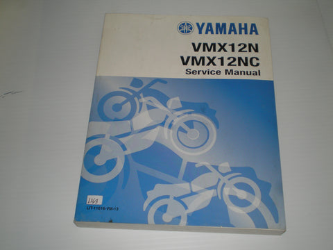 YAMAHA VMX12 N NC 1985 Service Manual and 4 Supplementary Service Manuals  LIT-11616-VM-13  #1368