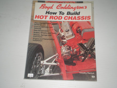 Boyd Coddington's - How to build hot rod chassis  #1674