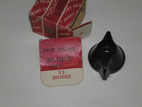 LUCAS Switch Knob 351815 Triumph Norton BSA Matchless AJS