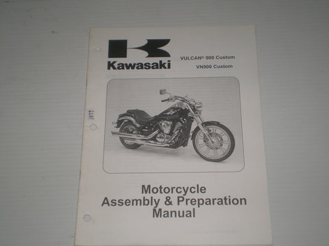 KAWASAKI Vulcan 900 Custom / VN900 Custom / VN900 C7F  2007  Assembly & Preparation Manual  99931-1469-01  #1879