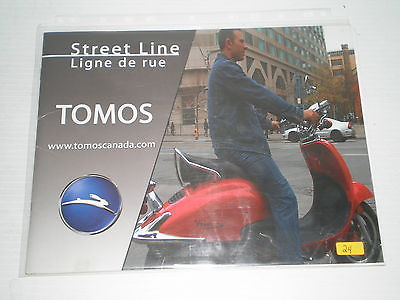 TOMOS Mopeds & Scooters Sales Brochure #24