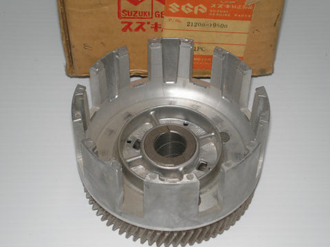 SUZUKI  1973  MT50  Primary Drive & Clutch Basket 20200-19500