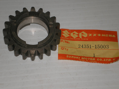 SUZUKI T500  Titan Transmission 5th Driven Gear 24351-15003