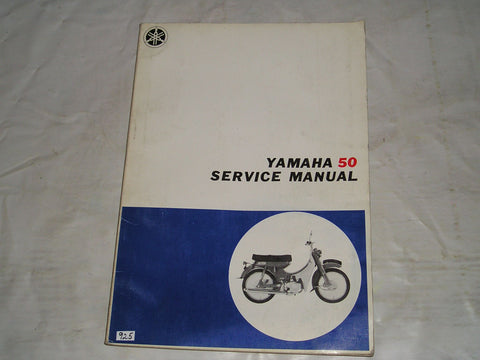 YAMAHA 50 MF3 D  Zeppy Moped  Factory Service Manual  #925