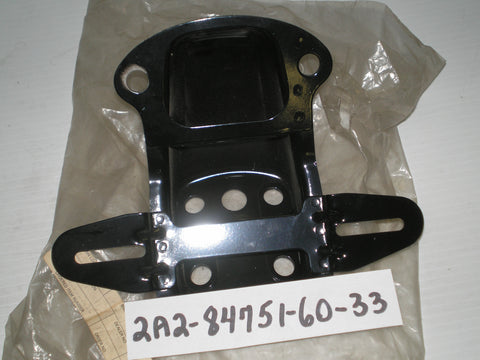 YAMAHA RD400  XS400  1977 - 1979  License Plate Bracket 2A2-84751-60-33