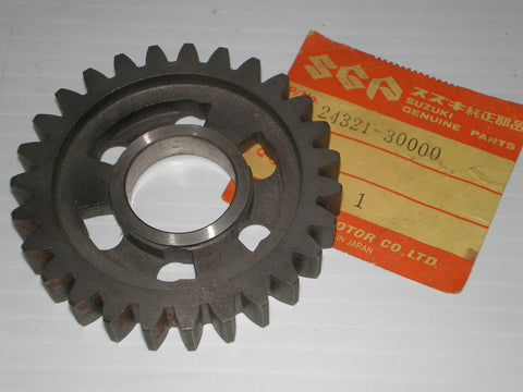 SUZUKI DS250 RL250 TM250 TS250 1971-1981 Second Driven Gear 24321-30000