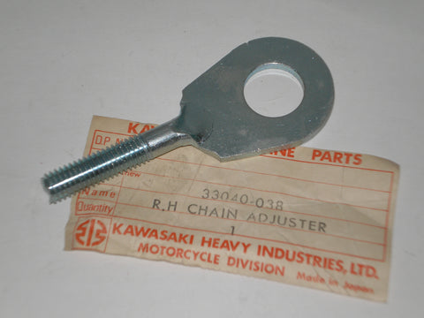 KAWASAKI G31M  Centurion Rear Wheel  R/H Chain Adjuster 33040-038