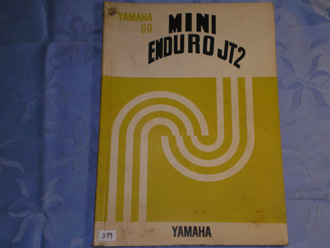 YAMAHA 60  JT2  Mini Enduro 1971 Service Manual  #379