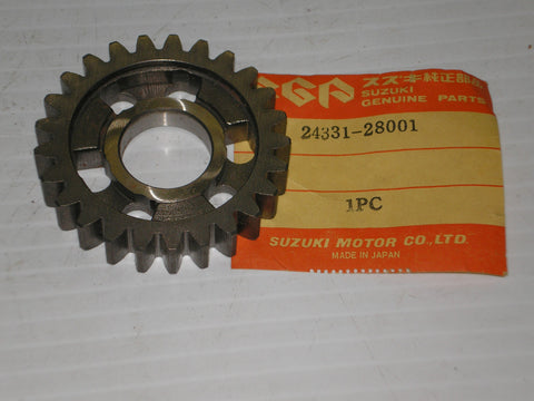 SUZUKI DS185 GT185 RV125 TC185 TS125 TS185 71-80 Third Driven Gear 24331-28001