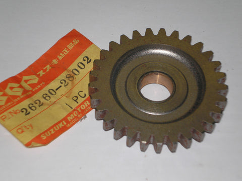 SUZUKI DS GT RM RV TC TM TS  AHRMA Kick Starter Idle Gear 26260-28002