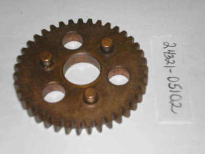 SUZUKI AC50 AS50 TS50 1971-1972 Transmission Second Driven Gear 24321-05102